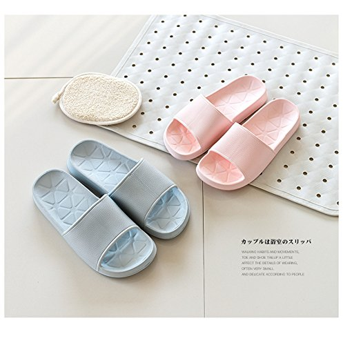 Bathroom 37 38 skid proof blue slippers rqW7tRrS
