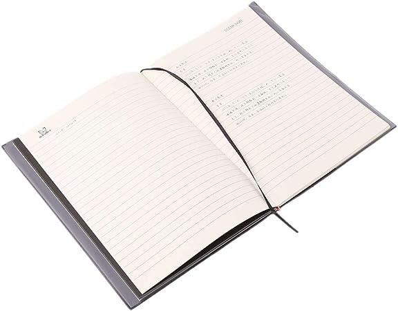 PHILSP Nuevo Death Note Cosplay Cuaderno y Pluma Pluma Libro Animaci/ón Arte Escritura Diario