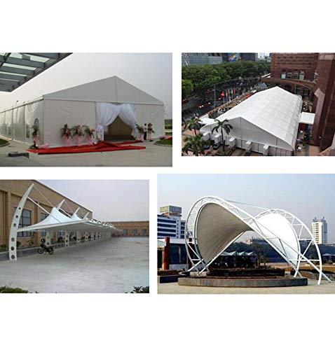 Tarpaulin NAN Heavy Duty Plane, High Density gewebtes gewebtes gewebtes Polyethylen und doppelt laminiert - 600g   m², weiß - 100% wasserdicht und UV-geschützt B07GKNC7R2 Zeltplanen Helle Farben 943cc1