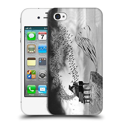 Officiel Graham Bradshaw Oiseau chanteur Illustrations Étui Coque D'Arrière Rigide Pour Apple iPhone 4 / 4S
