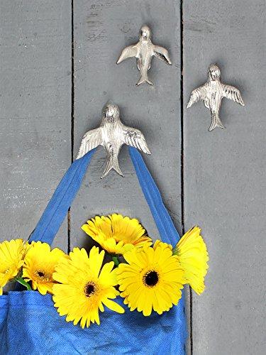 Store Indya, Handmade Wall Hooks Coat Hanger (White2)