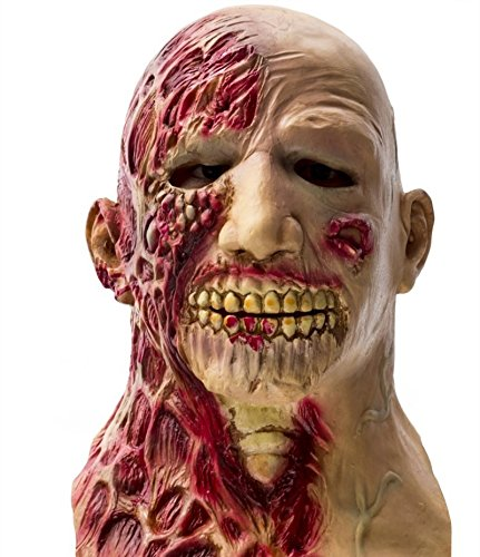 Loisleila Deluxe Halloween Latex Scary Head Mask Devil Ghosts and Monsters Costume Party -