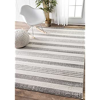 contemporary parallels stripes geometric grey area rugs feet inches light rug canada at target home depot