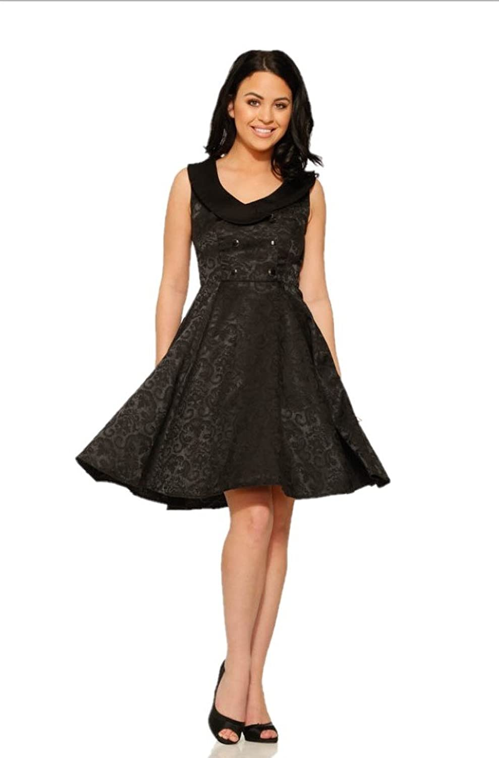 Steampunk Dresses | Women & Girl Costumes Hearts & Roses Gothika Mini Dress (Shipped from The US and US Sizes) $54.88 AT vintagedancer.com