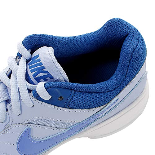 Tennisschuhe Tint WMNS 450 NIKE Court Royal Lite Purple Mehrfarbig Damen Monarch White xAxPnqI