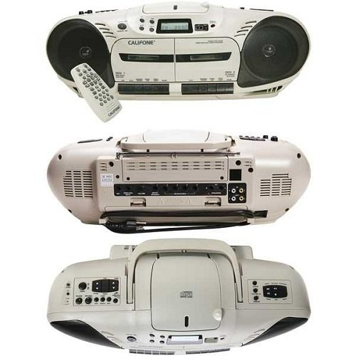 Califone 2455AV-04 Performer Plus Multimedia Player/Recorder by Califone