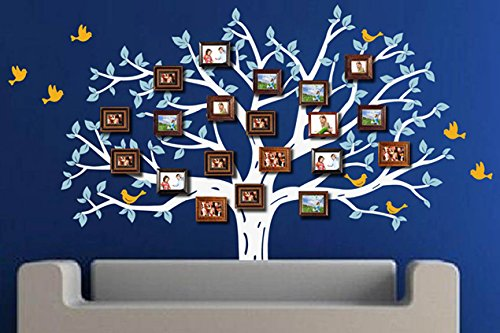 Pop Decors PT-0197-Vc Beautiful Wall Decal, Family Photo Tree by Pop Decors