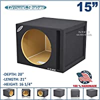 15 Single Ported / Vented Subwoofer Box 34Hz