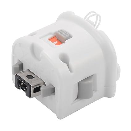 XCSOURCE® Motion Plus Adaptador para el controlador remoto original de Nintendo Wii Blanco AC651
