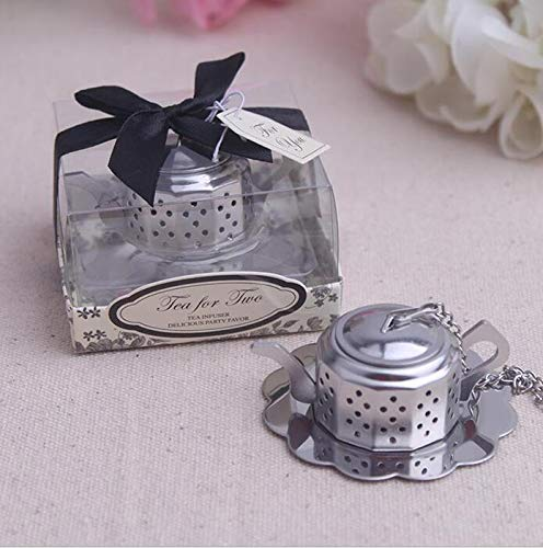 Stainless Steel Teapot Tea Infuser Tea Strainer Filters For Wedding Favor (50)