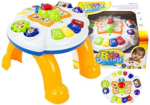 Éducation grande table avec piano papillon