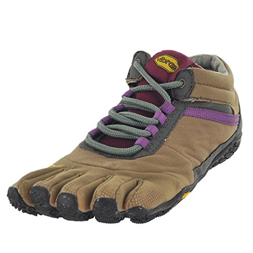 nsulated-Women's Sneaker, Khaki/Grape, 37.0 B EU (7-7.5 US) ()
