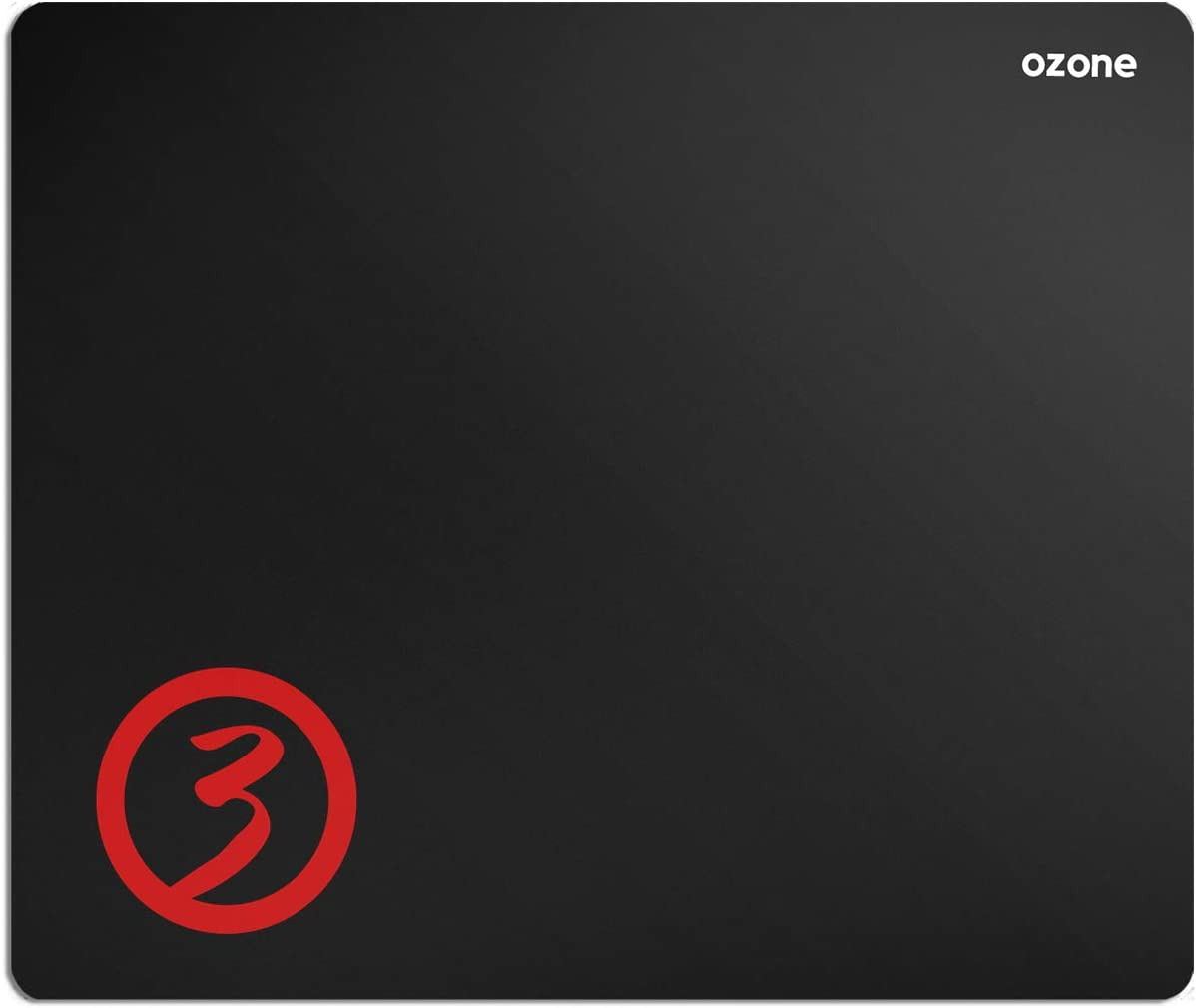 Ozone Gaming Ground Level M - OZGLEVEL - Alfombrilla para Gaming, Monótono