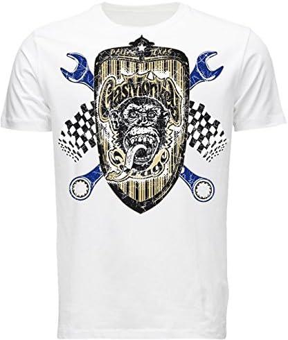 Gas Monkey Garage - Camiseta - para hombre blanco xx-large: Amazon ...