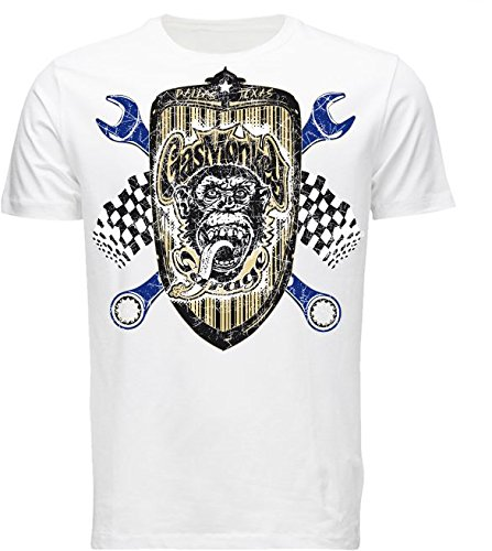Gas Monkey Garage - Camiseta - para hombre blanco xx-large