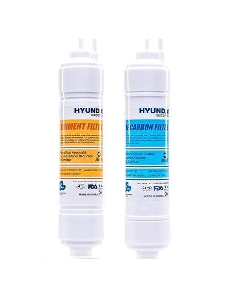 Juego de filtros dispensador by Hyundai waco. con Repuesto A 6 Meses (Depósito +