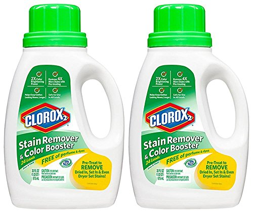 Clorox 2 Liquid Concentrated Color Safe Bleach - Free & Clear - 33 oz. - 2 pk