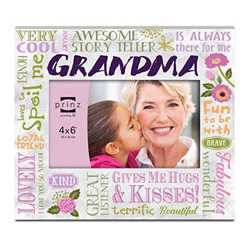 "Prinz More than Words 'Grandma' Wood Frame, 6 x 4"""