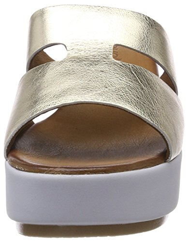 free shipping wide range of cheap outlet store Inuovo Women's 8758 Flip Flops Gold (Gold 16779590) cheap sale best store to get 7e6vND