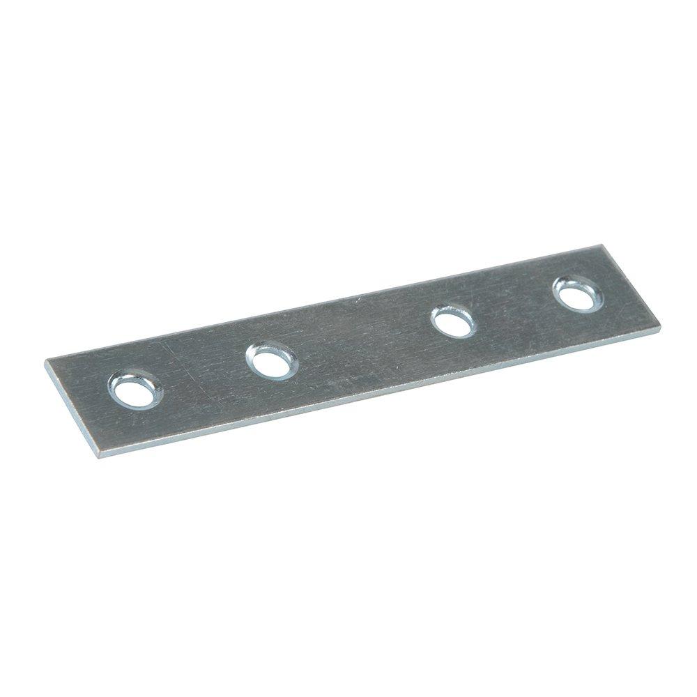 Fixman 844905 Straight Mending Plates 80mm Pack of 10