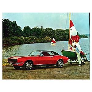 1968 Chevrolet Camaro Trailer Tow Photo Poster