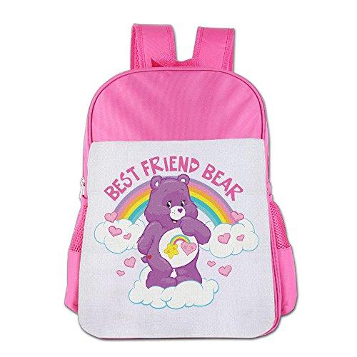 IOH CARE BEARS Kids Outdoor Knapsack Pink (Colt Mascot Costume)