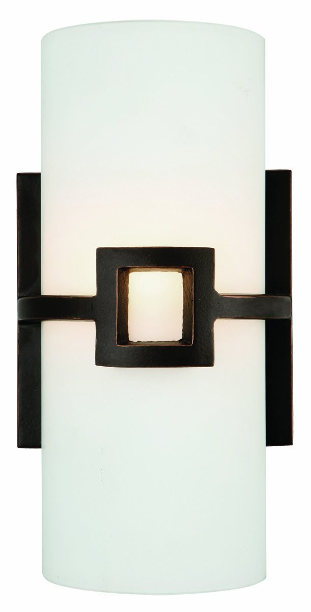 Design House 514604 Monroe 1 Light Wall Light, Oil Rubbed Bronze ...
