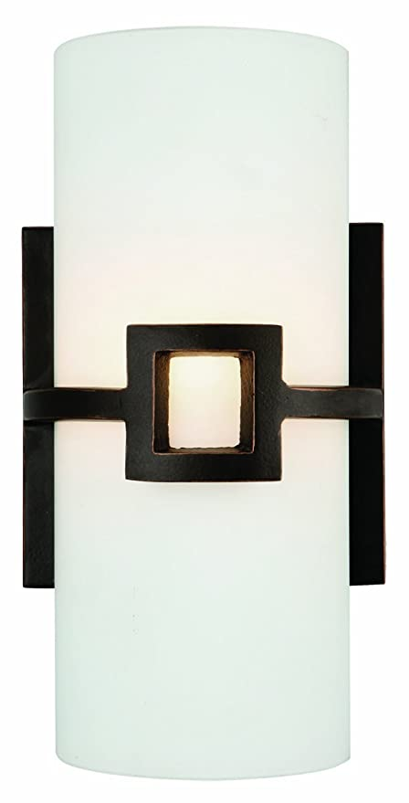 Design House 514604 Monroe 1 Light Wall Oil Rubbed Bronze