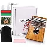 Kalimba Thumb Piano 17 Keys, Portable Mbira
