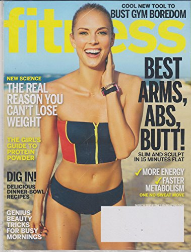 Fitness March 2015 Best Arms, Abs, Butt!