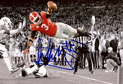"Todd Gurley ""Flying TD"" Autograph Replica Poster - Georgia Bulldogs"