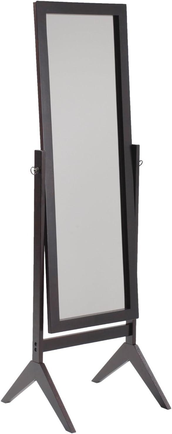 SQF Floor Length Mirror (Espresso)