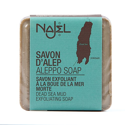 Najel Aleppo-Seife mit Totem Meer Schlamm, 100 g