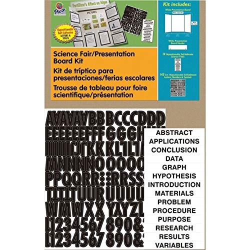 Pacon Corrugated Presentation Board Kit, 48