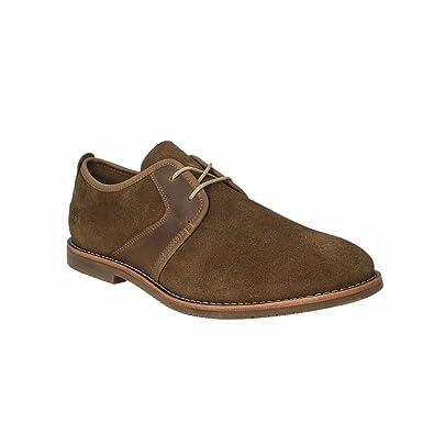 Timberland Chaussures de Ville à Lacets Pour Homme Gris Gris - Gris - Gris, 44.5 EU