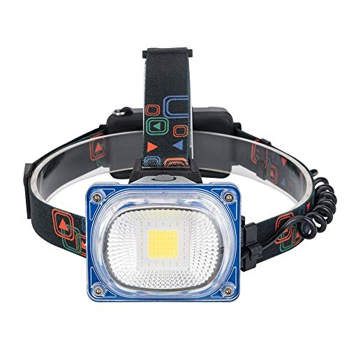 SX-ZZJ Headlights, 20W Maintenance Lights Emergency Lights, Aluminum Headlights Waterproof Lighting Outdoor Lighting Camping Lights (Flashlight Sx)