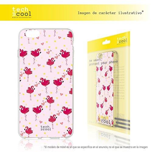 Iphone 6 / 6S Coque, Funnytech® Housse premium Souple TPU Silicone pour Iphone 6 / 6S l [couleurs très vives] [Design exclusif, Impression haute définition] [Ultra Mince 1,5mm] [Souple]