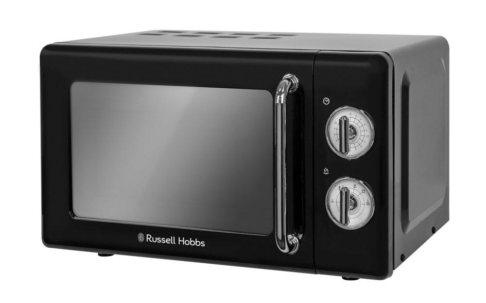 Russell Hobbs RHRETMM705B Retro nero compatto Microonde manuale (Nero) RHRETMM705B-EU