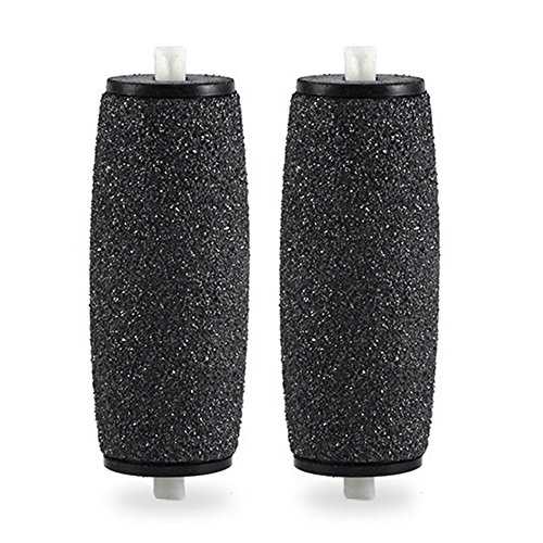 2PCS Pedi Extra Hard Skin Remover Coarse Replacement Rollers Heads Express Refill ()