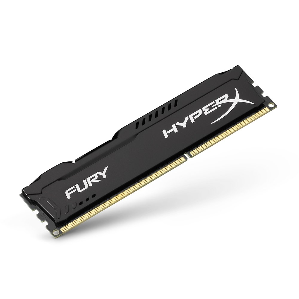 Kingston HyperX FURY 8GB Kit (2x4GB) 1600MHz DDR3 CL10 DIMM - Black (HX316C10FBK2/8) by HyperX (Image #5)