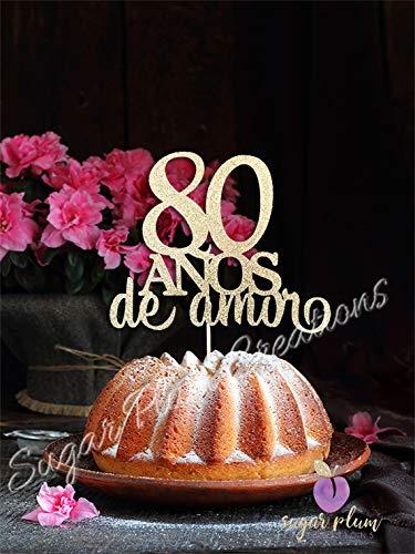80 Años de Amor - Sugar Kitchen Plum