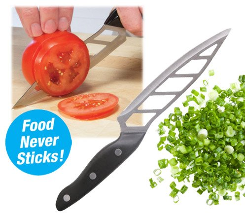 SahiBUY 10-Inch No Stick Vegetable Knife Black