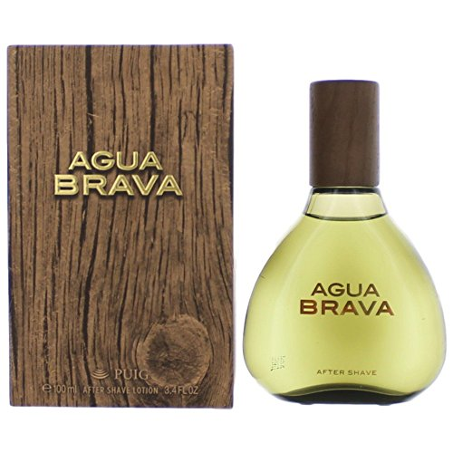 Agua Brava By Antonio Puig For Men. Aftershave 3.4 Oz.