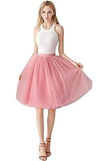 Babyonlinedress® Damenrock Tüllrock Elasthan Band Tutu 50er Karneval  Tanzkleid Unterkleid Crinoline Petticoat für Rockabilly Kleid b179e4e978