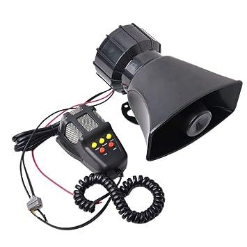 60W ABS Carro del Coche de Alarma del vehículo Loud Kit de ...