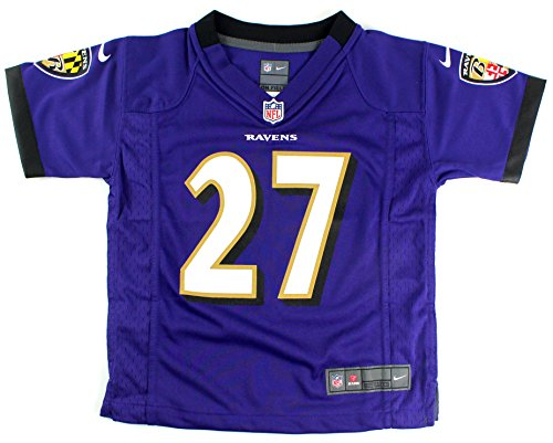 (Outerstuff Ray Rice Baltimore Ravens #27 Kids 4-7 Game Jersey Purple (Kids Small 4))