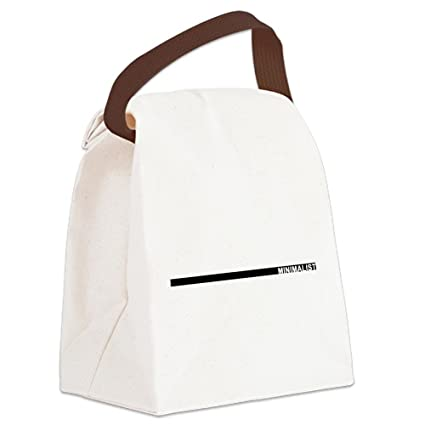 0d5551f948 Amazon.com  CafePress - Minimalist Canvas Lunch Bag - Canvas Lunch ...