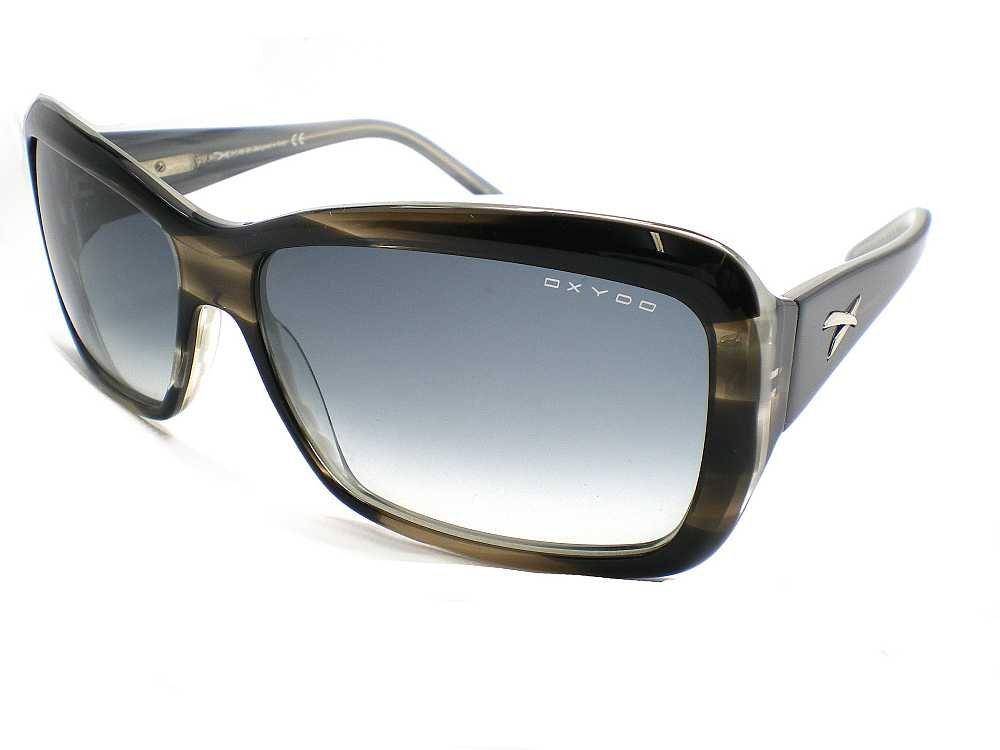 Gafas de sol Oxydo damas Flore hielo negro con gris ...