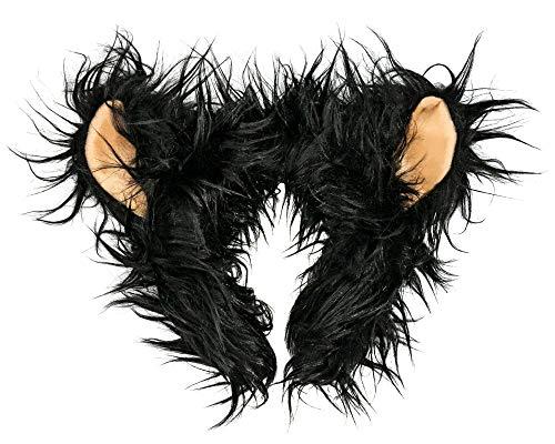 Wildlife Tree Plush Black Bear Ears Headband Accessory for Black Bear Costume, Cosplay or Forest Animal Costumes