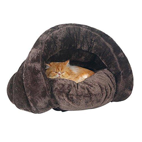 51b3YsiJ29L - Cat Pet Bed Indoor Custion Mat for Puppy Dog Kitten Kitty House